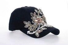 Rhinestone & Crystal Studded Baseball Cap