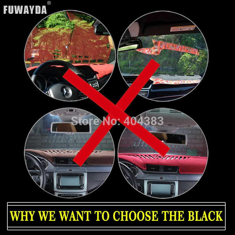 Bảng Điều Khiển Trên Ô Tô Bao Da Cho Xe Toyota New Reiz 2010-2016 Năm Tay Phải Ổ Dashmat Miếng Lót GẠCH NGANG Thảm Có bảng Điều Khiển Phụ Kiện