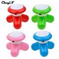 CkeyiN Mini USB Battery Triangle Full Body Massage Wave Vibrating Electric Handled Massager Neck Waist Back Shoulder Massage