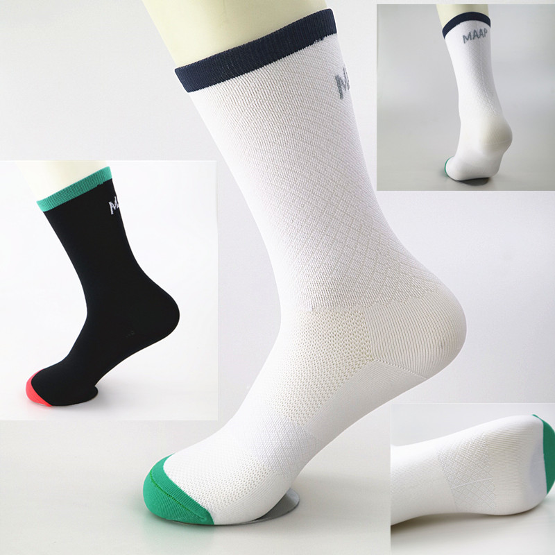 Men Women Cycling Riding Sport Socks Breathable Running Basketball Socks Coolmax Nylon