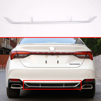 Voor Toyota Avalon XX50 2018 2019 2020 Abs Chrome Rear Bumper Skid Protector Guard Plate Accessoires