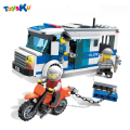 Police Series Prisoner Transport Car Plastic Building Blocks,Best Christmas Gifts for Boys and Girls