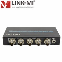 LINK MI S401 SDI Switch 4x1 3G/HD/SD SDI Seamless Switcher SDI video distributor BNC adaper signal amplifier Transmitter