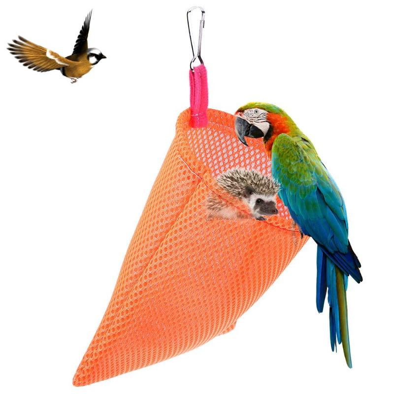 Summer Breathable Small Animal Guinea Pig Hamster Bed Sandwich Mesh Hamsters Mat Pet Hanging Sleeping Bags House Nest Hamster
