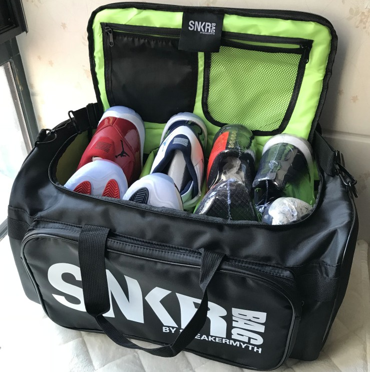 travel duffle Multifunctional shoes Storage bag, basketball bags, travel bags versatile curry