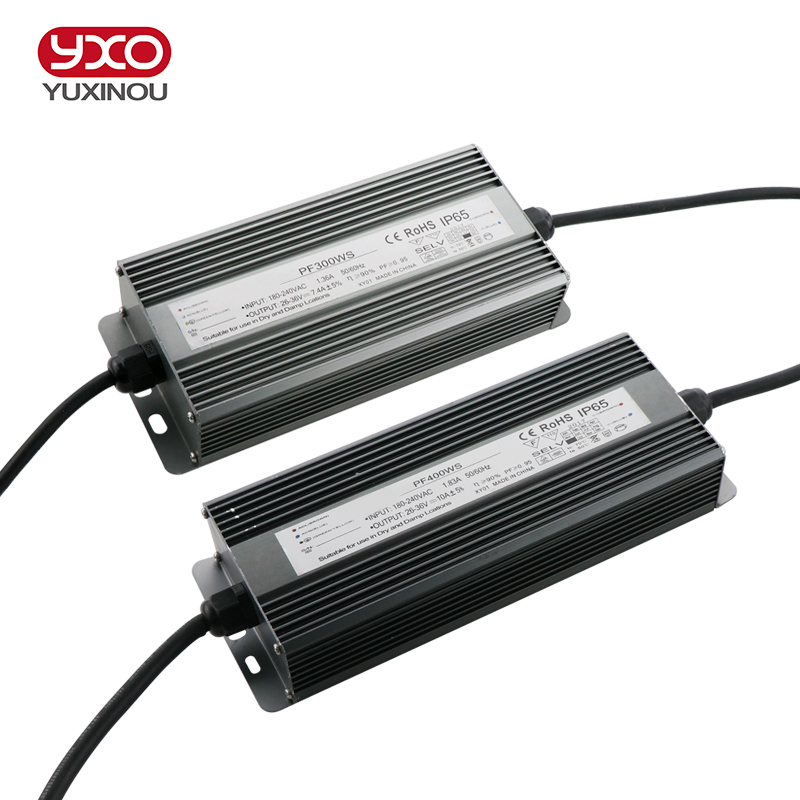 LED Driver 100W 150W 200W 300W 400W 500W Convert AC 85-265V To DC 26-36V LED Driver For Flood Light Floodlight IP67 No Flicker