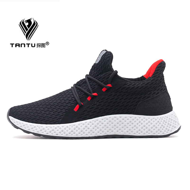 2019 New Krasovki Mesh Men Shoes Casual Sneakers Spring Trainers Male Non slip Rubber Sole Chaussure Homme Sport Espadrilles Men