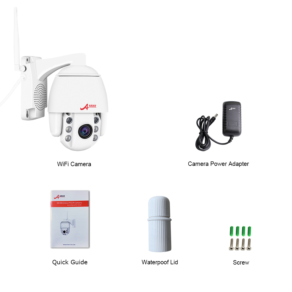 Image 5 - ANRAN IP Camera 1080P HD PTZ Network Camera Home Video Surveillance Camera 2MP HD CCTV Camera IP Support Onvif-in Surveillance Cameras from Security & Protection