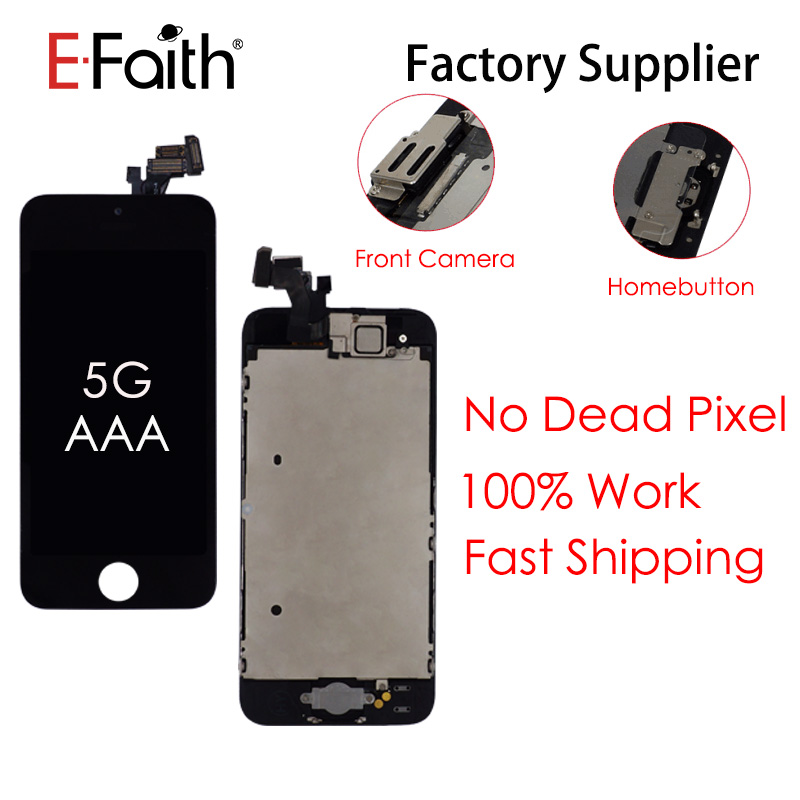 5pcs lot Top Quality Full Set LCD or Display For iPhone 5 or 5s or 5c
