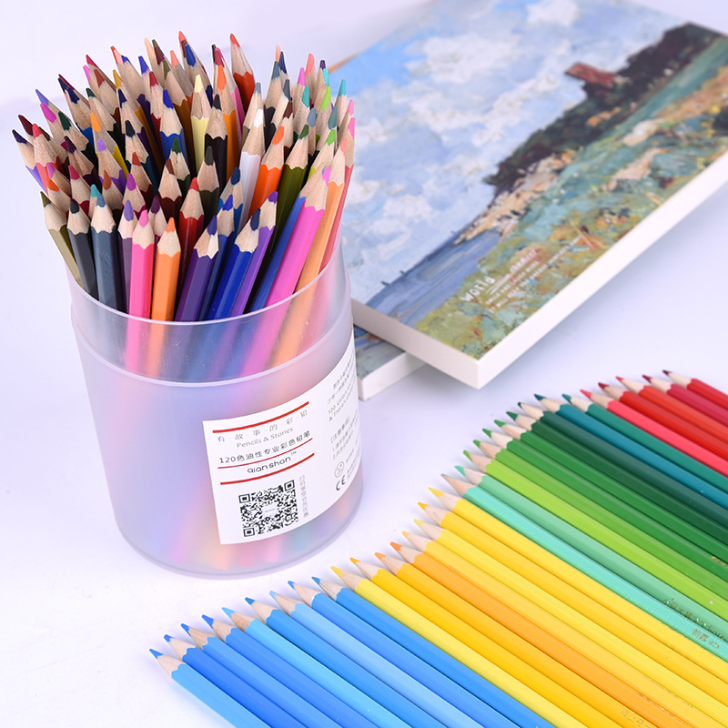 120 Colors Pencil Set Oily Color Pencil Set Oil Painting Drawing Art Supplies For Write Drawing Lapis De Cor faber castell 36 48 72 colored pencil professional lapis de cor artist painting oil color pen for drawing sketch art supplies