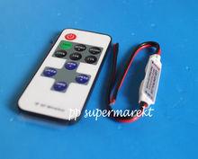 12V RF Wireless Remote Schalter Controller Dimmer für Mini LED Streifen Licht Neue EVM