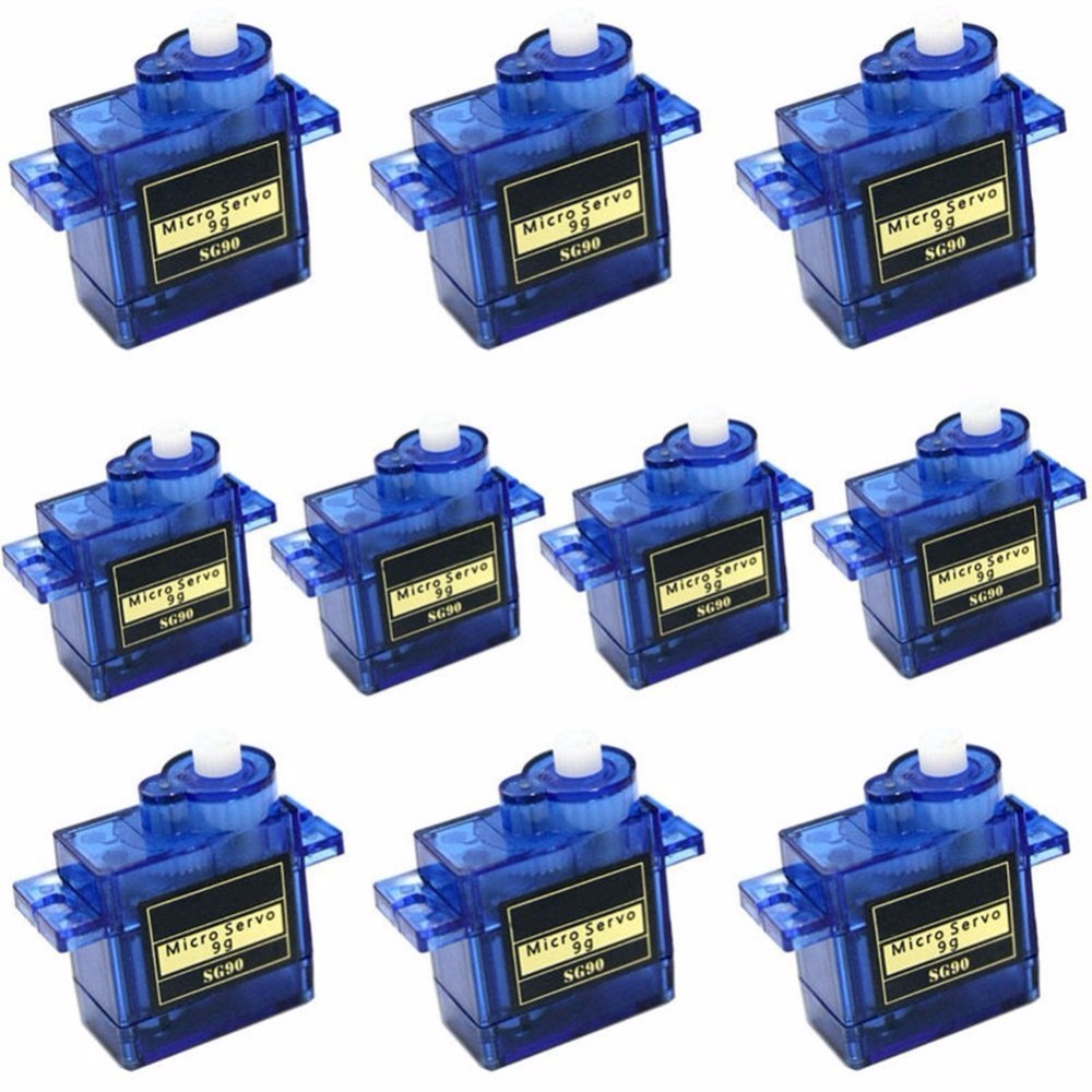 10 x TowerPro SG90 9g 1.6KG Mini Micro Servo RC Robot  250 Helicopter Airplane Controls Servo Motor for Arduino Free Shipping