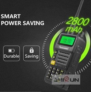 Image 2 - Ham Radio for Hunting UV R50 2 Quansheng 5W Dual Band VHF UHF 136 174Mhz/400 520Mhz Walkie Talkie UV R50( 1) Baofeng UV 82 UV 5R