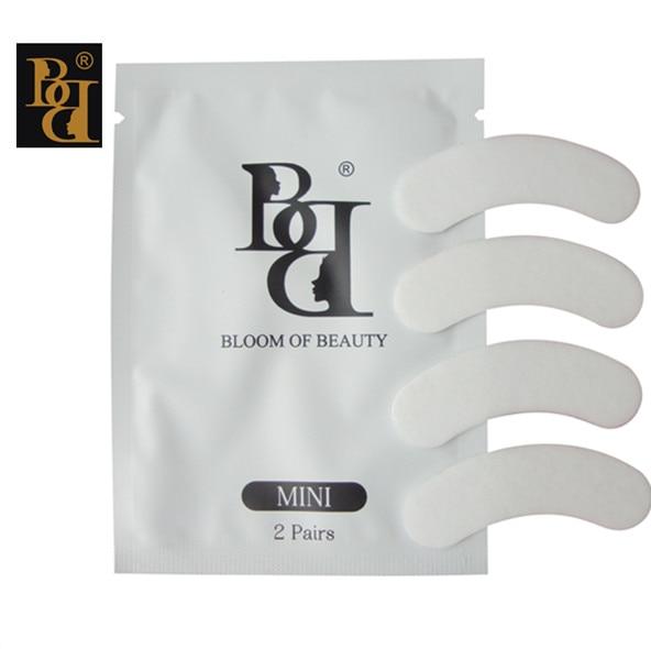 1000pairs lot BB brand MINI lint free eye patch Non Irritation Comfort Fit Mini Under Gel