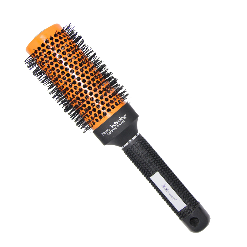 Salon hair blowing brush ceramic ionic round comb barber for Salon hair brushes