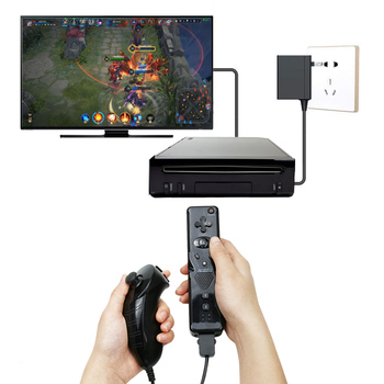 Wireless Controller For Wii Gamepad Built-in Motion Plus Remote with Nunchuck For Nintend Wii Controle Joystick