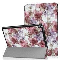 Dla Apple iPad Pro 10.5 Flipa Stań Nadrukowany Wzór Przypadku Tabletu pokrywa Inteligentne Ultra Cienka Powłoka Ochronna Dla iPad Pro Wysokiej Jakości