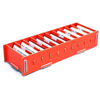 Large Capacity Business Card Box Rack Male Commercial Diy Office Stationery Business Card Storage Rack A3010