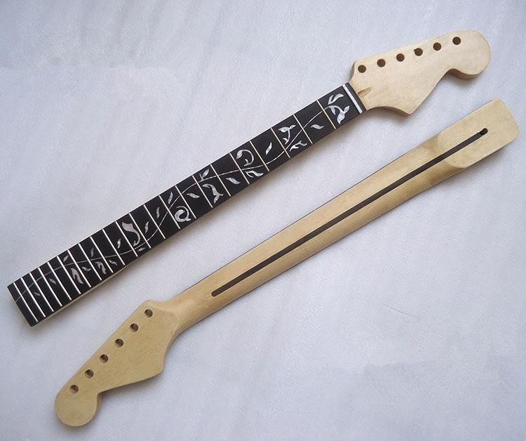 ФОТО Musical instruments 22 Fret The Tree of Life Canadian maple Electric Guitar Neck Guitar Parts accessories Wholesale