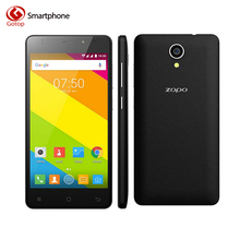 Оригинал ZOPO C2 MT6580 Quad Core Сотовый Телефон 5.0 Дюймов HD экран Смартфона Android 6.0 1 ГБ RAM 8 ГБ ROM 2100 мАч Мобильного Телефона