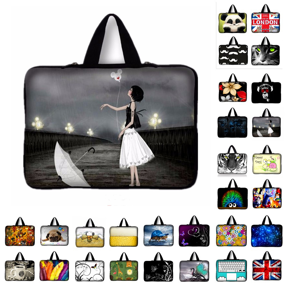 9.7 10.1 11.6 13 13.3 New Laptop Sleeve Notebook Case 14.4 15.4 15.6 17.3 17.4 Computer Pouch For Macbook Air / Pro HP Asus #R