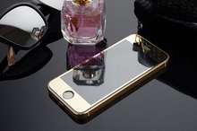 Здесь можно купить   Front Colorful Tempered Glass Film for iPhone 5C 5S 5 5SE Rose Gold Mirror Effect Plating Premium Full Screen Protective NO BACK Mobile Phone Accessories & Parts