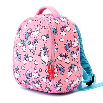 Cute Animal Children School Bags For Girls Boys Kids Backpacks Kindergarten Schoolbags Fashion Unicorn Kids Bag Mochila Infantil instantarts hot game fortnite battle royale printed kindergarten schoolbags casual mini children orthopedic school bag backpacks