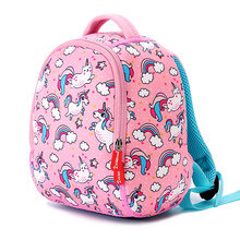 Lindo Animal niños mochilas escolares para niñas niños mochilas jardín de infantes moda unicornio niños bolso Mochila Infantil