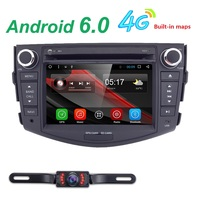7 2 Din Android 6 0 Car Radio Quad Core Rav4 In Car Multimedia Player For