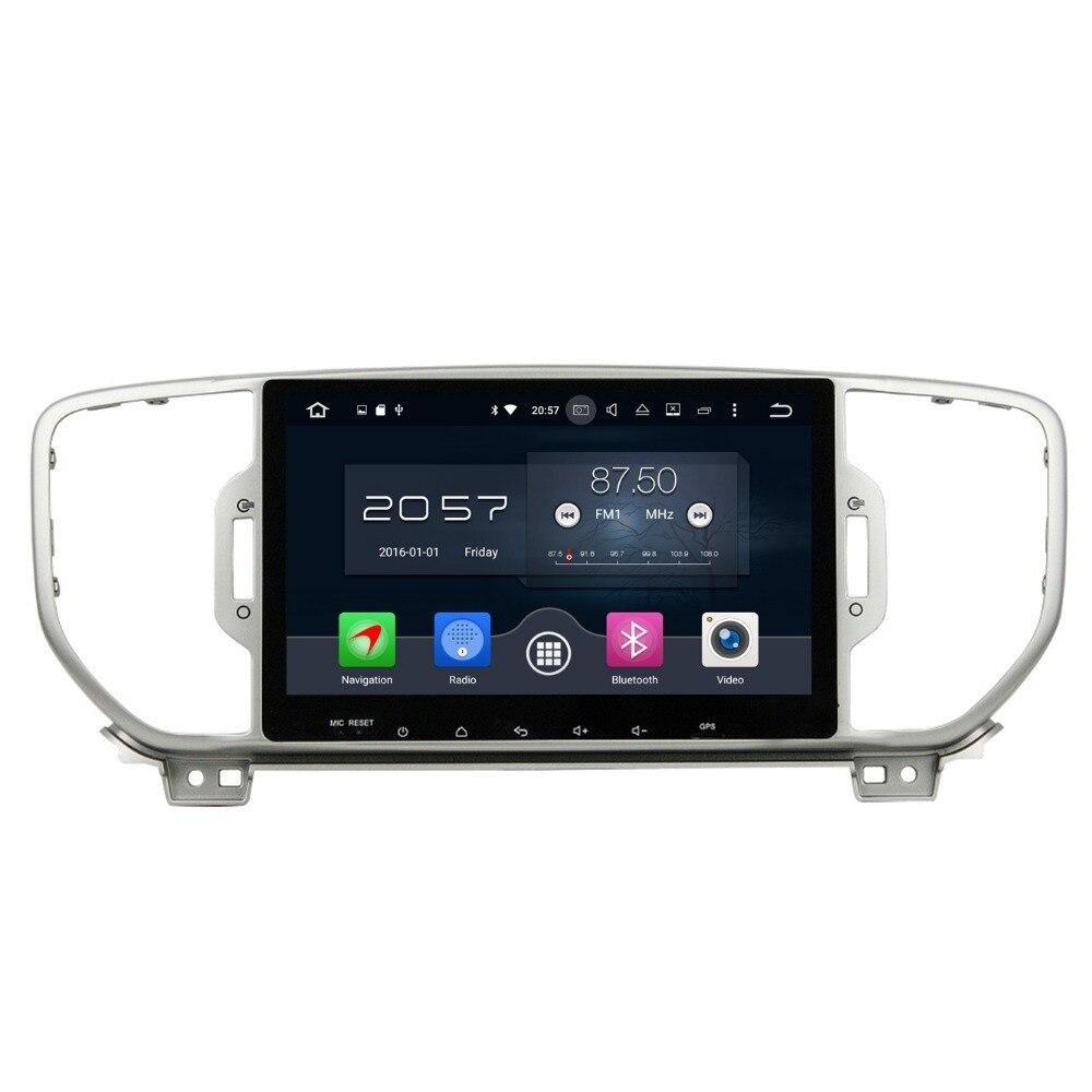 1024 600 Octa Core 2 din 9 Android 6 0 Car Radio DVD font b GPS