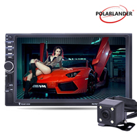 2 Din Car Radio Bluetooth 7 Radio Stereo MP5 Player USB TF FM 8G Map Card