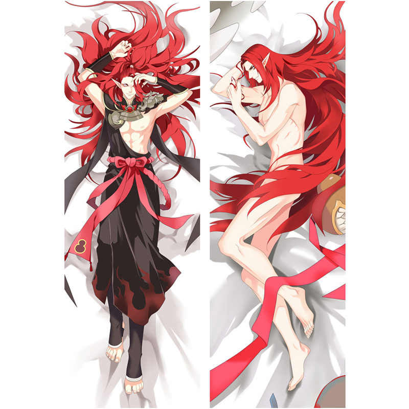 2018 NEW Anime onmyoji pillow Covers Death Note two-sides Printed Pillow Cases cool boy Hugging Body Bedding Pillowcases Cover