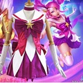 star guardian lux cosplay lol cosplay lulu costumes annie costume sexy halloween costumes for women plus size girls kids