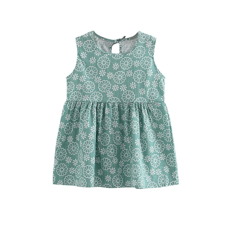 Toddler Girl Dresses A-line Summer Dress Sleeveless Floral Printed Kid Princess Party Dance Evening Fit For 1-5Y Child 2017 new infant kids girls child a line dress sleeveless floral printed kid princess party dance evening vestido 1 5y s2