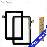 SanErqi 7 High Quality LCD Screen Touch Screen Glass Digitizer Repair For Lenovo IdeaTab A2107 A2207