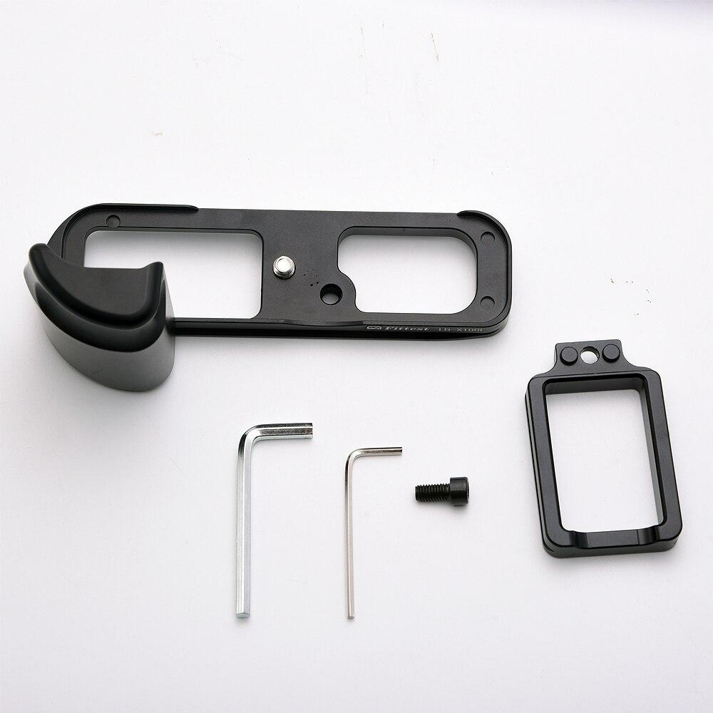 FITTEST Pro Vertical L Type Bracket Tripod Quick Release Plate Base Grip Handle For Fujifilm for Fuji X100F X100-F Digital Camer