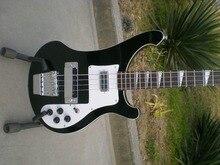 Comercio al por mayor rickenback rickenback 4003 bass guitars china fábrica 4 cuerdas negro guitarra