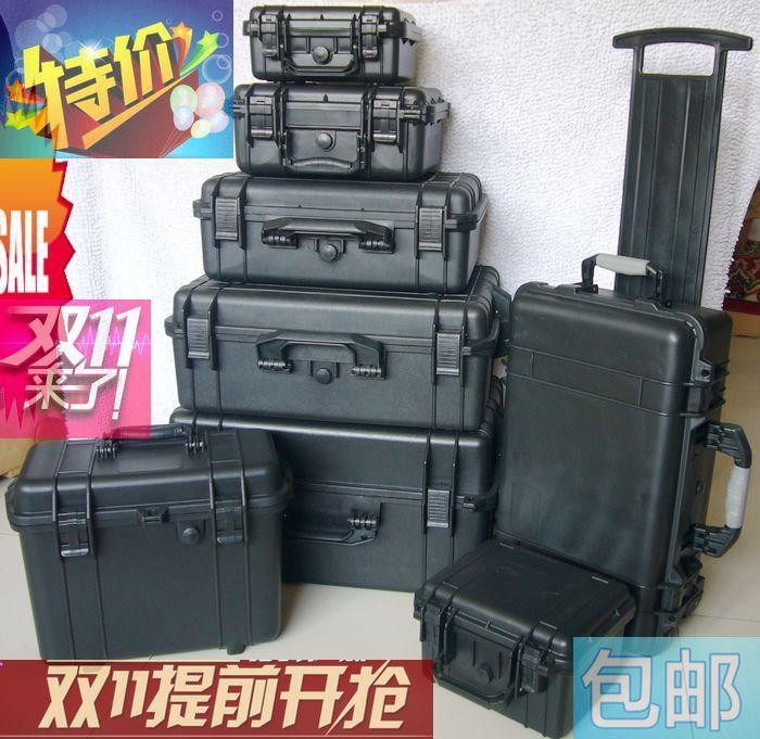 Adearstudio Safety box moisture proof box photographic equipment box shock box belt sponge 8
