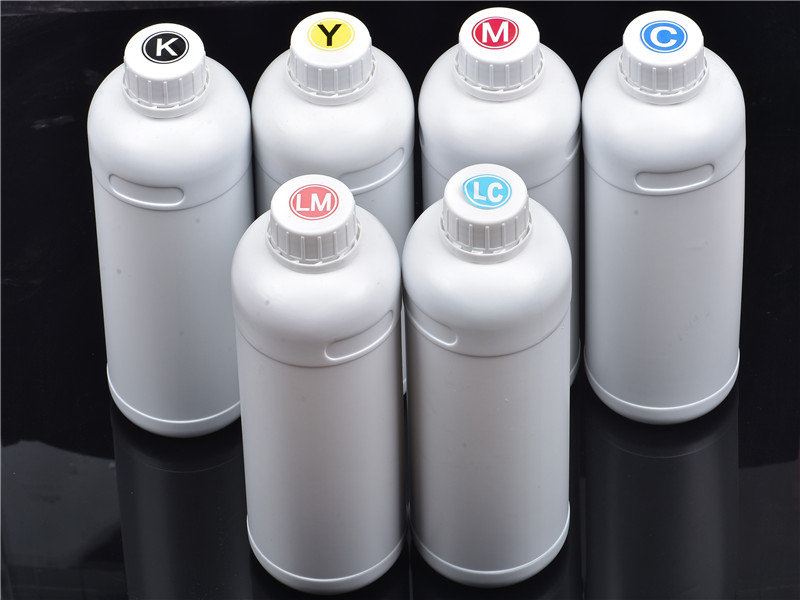 High quality 1000ml Solvent Ink for Roland/Mimaki/Mutoh eco solvent ink with 6colors oil based ink chinese manufacturing bottle ink eco max ink for roland mimaki mutoh 4colors set