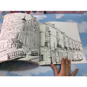 Image 5 - 84 Trang Hồn Tôi Du Lịch Sách Tô Màu Mật Phong Cách Tô Màu Giảm Căng Thẳng Giết Thời Gian Đồ Bộ Tranh Vẽ Sách