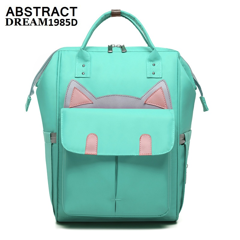 backpack Mummy bag designer shoulders large capacity new fashion for mujer treasure mother sac package black Japan luxury purse