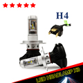 2017 New Design H4 all in one Led Headlight High Low Beam 50W Fog Light Kit LED Lamp Xenon Car-Styling H4 LED Bulbs