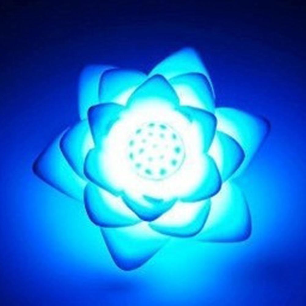 LED Romantic  Flower 7 Color Changed Lamp LED Night Light For Kids
