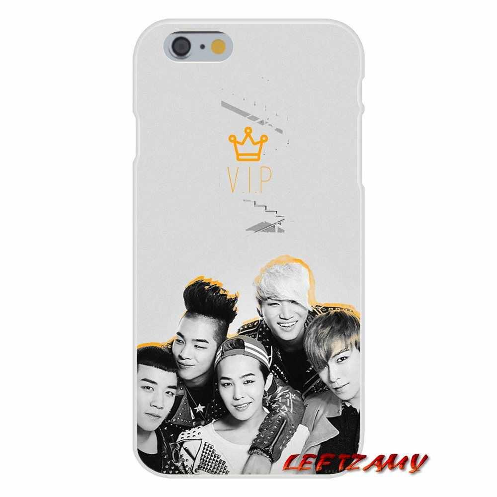 تصميم kpop bingbang VIP شعار G التنين لسامسونج غالاكسي A3 A5 A7 J1 J2 J3 J5 J7 2015 2016 2017 اكسسوارات الهاتف قذيفة يغطي