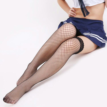 2017 Sexy Stockings hose Sexy High Stockings Fishnet Lace Stockings Hosiery Female Sexy Women Pantyhose Stockings