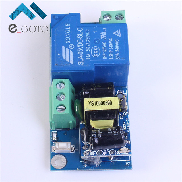 High Power Wifi Relay Switch Module Inching Jog Mode AC 220V Phone Timer Remote Control 6.8x3.3x2.6cm PSA Wireless Smart Home