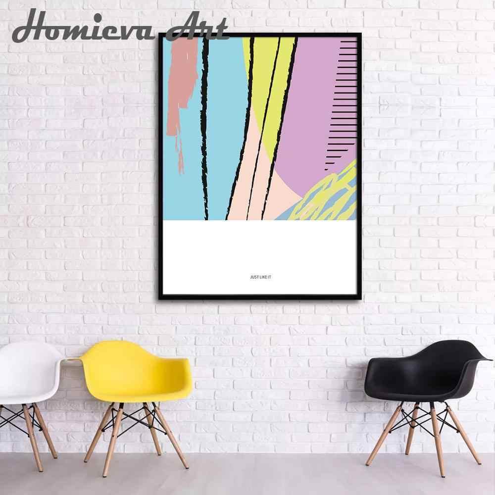 3 шт. набор холст настенная художественная роспись Абстрактная картины для спальни современные декорации для дома пла