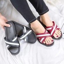 Women Slides Summer Flat Open Toe Eva Slippers Slip on Sandals Black Red Shoes Woman Flip Flops Zapatillas Mujer недорого
