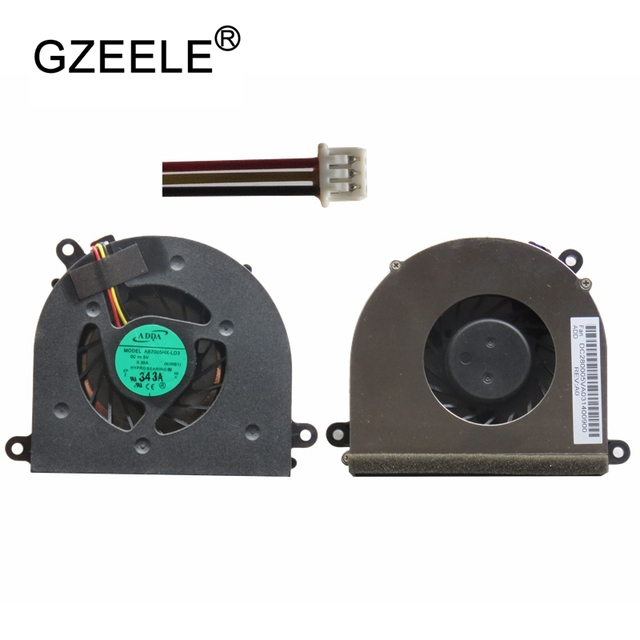 GZEELE new laptop CPU Cooling Fan For IBM for Lenovo IdeaPad Y550A Y550 Y550P LAPTOP Cooler Radiator Cooling Fan 3 pins