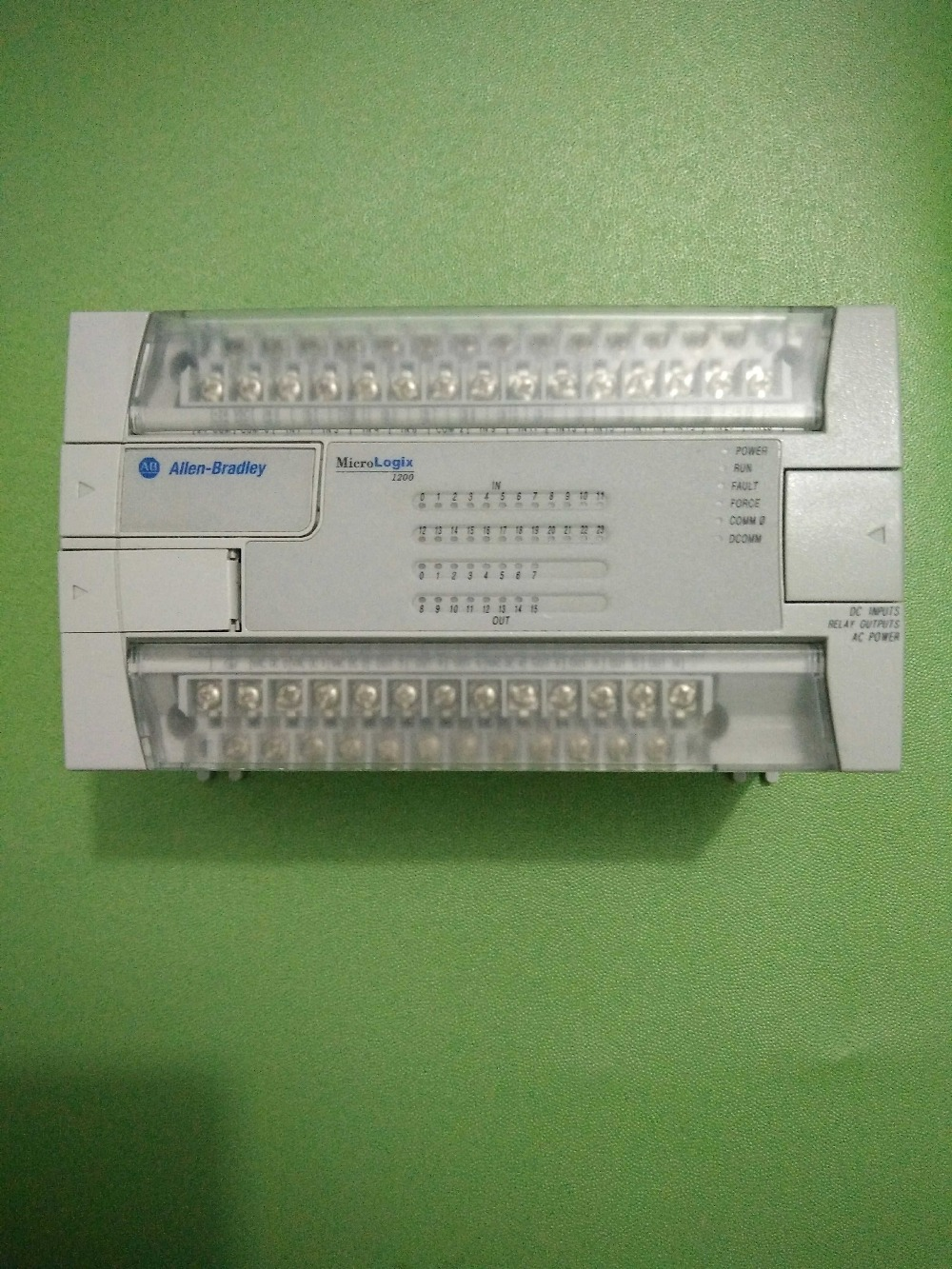 1762-L40BXBR  AB-PLC used in good condition 1762 if20f2